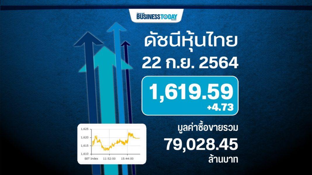 หุ้นไทยปิดบวก 4.73 จุด แนวโน้มผันผวนจากผลประชุมเฟด