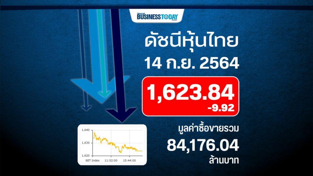 หุ้นไทยร่วง 9.92 จุด กลุ่มฟรีโฟลทต่ำฉุดตลาด
